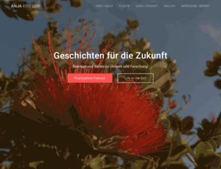 anjakrieger.com screenshot