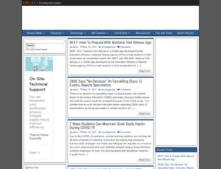 anjaliankur.com screenshot