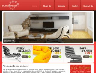 anjalisofa.com screenshot