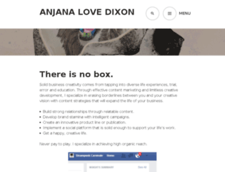 anjanadixon.wordpress.com screenshot