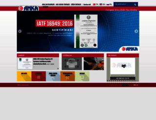 ankaautomotive.com.tr screenshot
