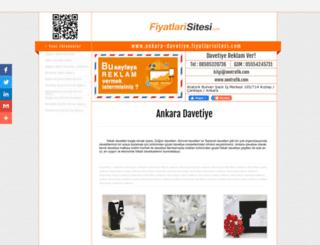 ankara-davetiye.fiyatlarisitesi.com screenshot