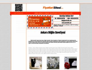 ankara-dugun-davetiyesi.fiyatlarisitesi.com screenshot