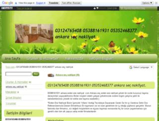 ankara-sec-nakliyat.ticiz.com screenshot