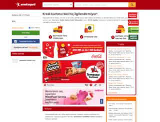 ankara.yemeksepeti.com screenshot