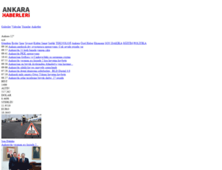 ankarahaberleri.net screenshot