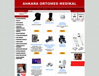 ankaraortomedmedikal.com screenshot