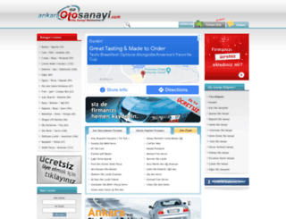 ankaraotosanayi.com screenshot