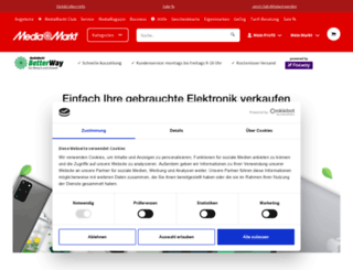 ankaufservice.mediamarkt.at screenshot