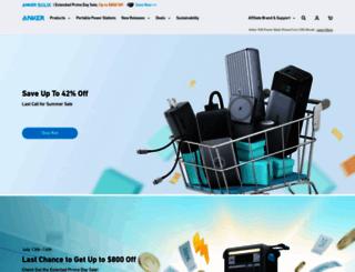 anker.com screenshot