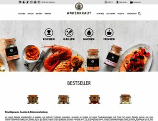 ankerkraut.de screenshot