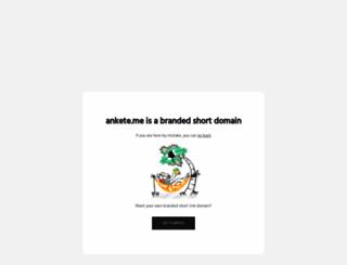 ankete.me screenshot