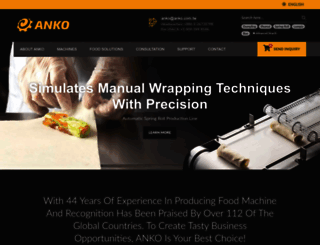 anko.com.tw screenshot