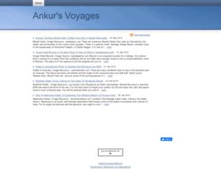 ankursvoyages.beepworld.de screenshot
