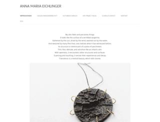 anna-eichlinger.de screenshot
