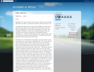 annabelinafrica.blogspot.com screenshot
