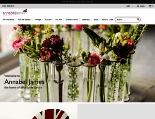 annabeljames.co.uk screenshot