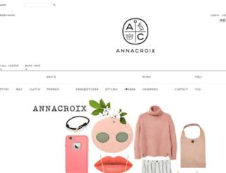 annacroix.com screenshot