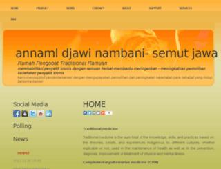 annamldjawi-nambani.com screenshot