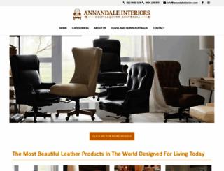 annandaleinteriors.com.au screenshot
