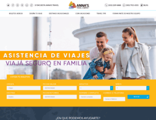 annas.travel.cp-2.webhostbox.net screenshot