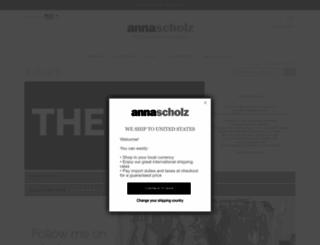 annascholz.com screenshot