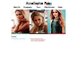 annasophiarobb.com screenshot