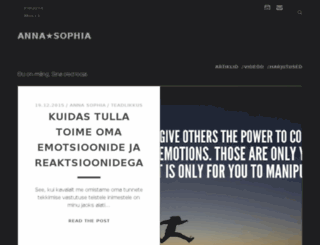 annastarsophia.com screenshot