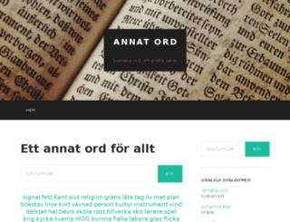 annatord.se screenshot