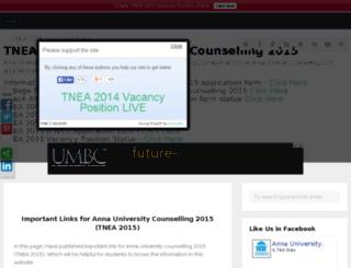 annauniversitycounselling2015.com screenshot