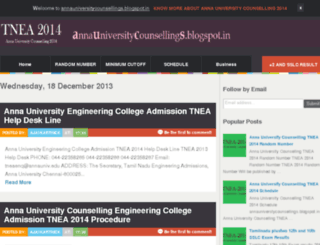 annauniversitycounsellings.blogspot.com screenshot