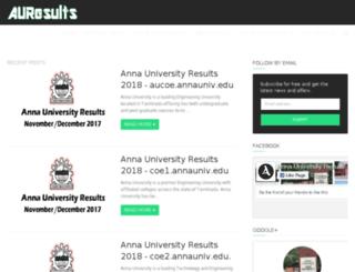 annauniversityresults.in screenshot