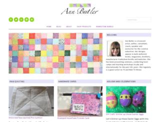 annbutlerdesigns.com screenshot