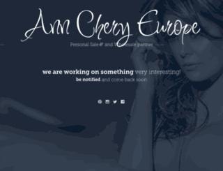 anncheryeurope.com screenshot