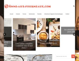 anne-aux-fourneaux.com screenshot