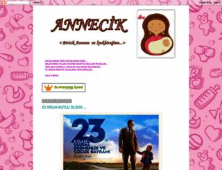 annecikk.blogspot.com screenshot