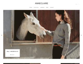 anneclaire.it screenshot