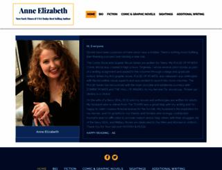 anneelizabeth.org screenshot