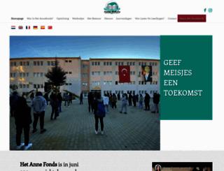 annefonds.nl screenshot