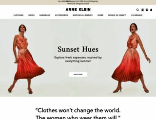 anneklein.com screenshot