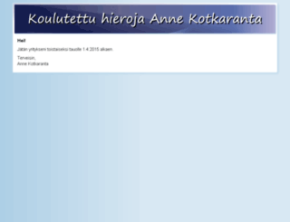 annekotkaranta.fi screenshot