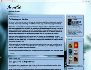 anneliekirstein.blogspot.com.br screenshot