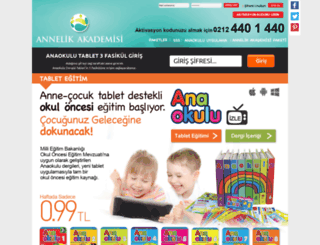 annelikakademisi.com screenshot