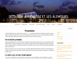 annemasse-agglo-tourisme.com screenshot