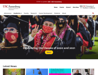 annenberg.usc.edu screenshot
