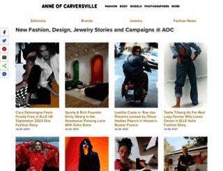 anneofcarversville.com screenshot