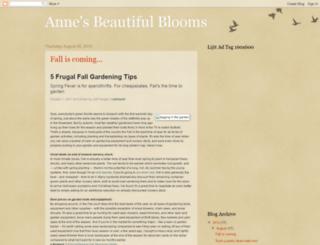 annesbeautifulblooms.blogspot.com screenshot