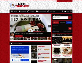 annetarifleri.com screenshot