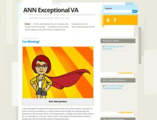 annexceptionalva.wordpress.com screenshot