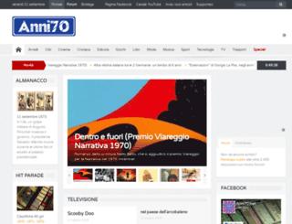 anni70.net screenshot
